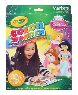 Crayola - Markers N Coloring Pad