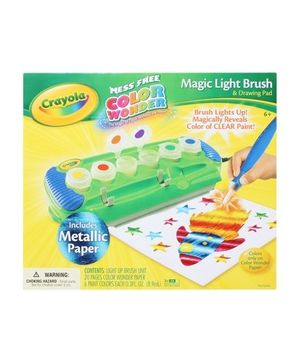 Crayola - Magic Light Brush And Drawing Pad