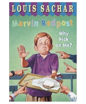 Random House - Why Pick On Me Marvin Redpost 2 paper Story Book