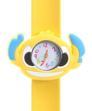 Fab N Funky - Kids Watch Crab Shape Yellow