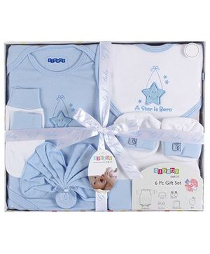 Baby Dreamz - Baby Gift Set Star Print Blue