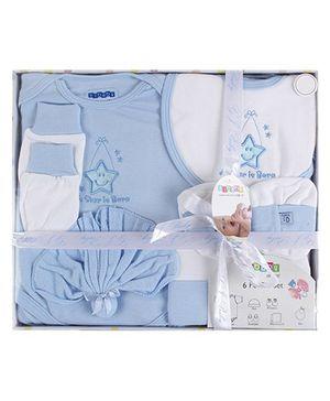 Baby Dreamz - Baby Gift Set Star Print Blue