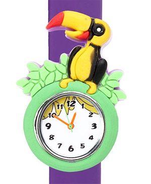 Fab N Funky - Bird Design Fashion Wrist Watch