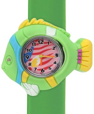 Fab N Funky - Kids Watch Fish Shape Green