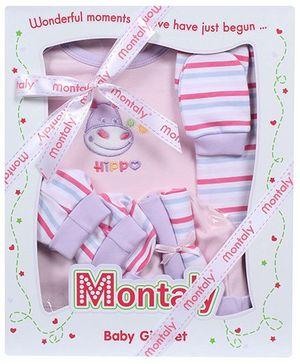 Montaly Purple Seven Piece Gift Set