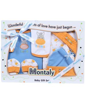 Fab N Funky - Montaly Blue Nine Piece Gift Set
