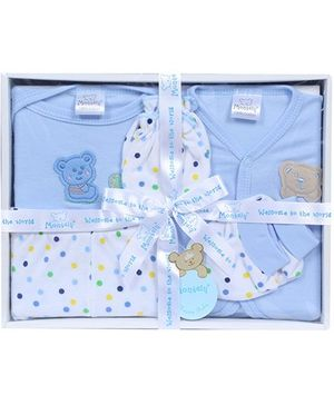 Montaly Blue Five Piece Gift Set
