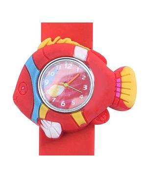 Fab N Funky Kids Wrist Watch Fish Shape