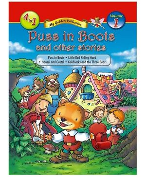 Jolly Kids Puss In Boots And Other Stories Book - Volume 1