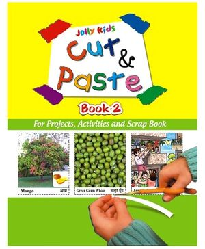 Jolly kids Cut and Paste Book 2