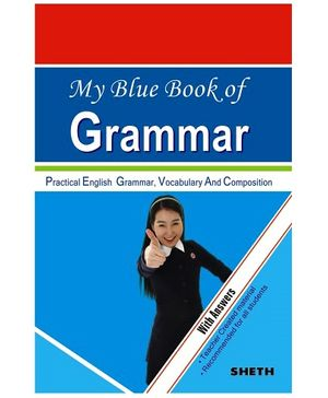 Jolly Kids My Blue Book Of Grammar With Answers Book