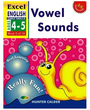 Jolly Kids Excel English Vowel Sounds Book - 5 Of 10