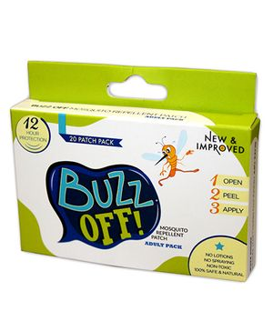 Buzz Off Mosquito Repellent  - 20 patches