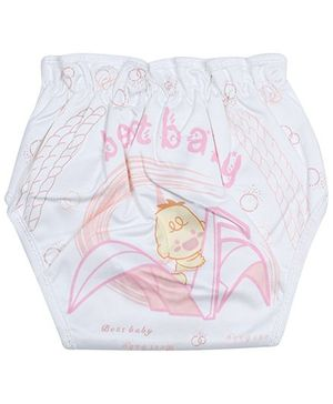 Babyhug Cloth Diaper Pink - Extra Large