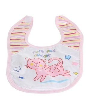 Baby Bibs - Cute And Cuddly Cat