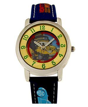 Disney Cars Analog Kids Wrist Watch - Dark Blue