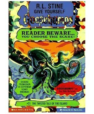 Scholastic Goosebumps The Twisted Tale Of Tiki Island Book 21 - English