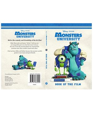 Parragon Disney Pixar Monsters University - Book Of The Film