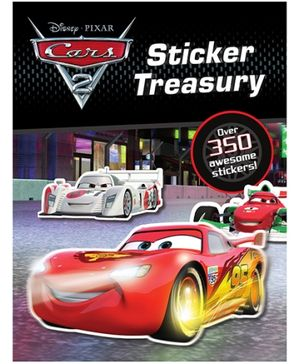 Parragon Disney Pixar Cars - Sticker Treasury
