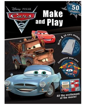 Parragon Disney Pixar Cars - Make And Play