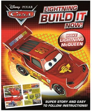 Parragon Disney Pixar Cars - Lightning Built It Now