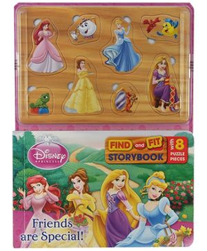 Parragon Disney Princess - Find And Fit Storybook