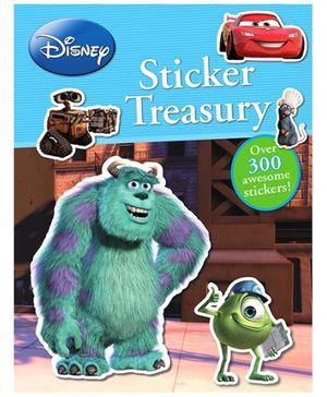 Parragon Disney Sticker Treasury Book