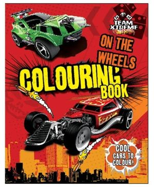 Parragon Hot Wheels Coloring Book