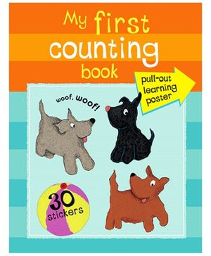 Parragon My First Counting Book - 30 Stickers