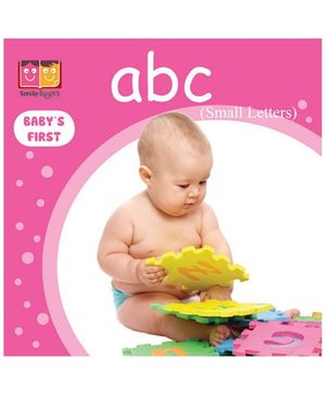 Smile Books Babys First - Abc Small Letters
