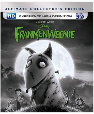 Disney Frankenweenie 3D English - Blu Ray Disc