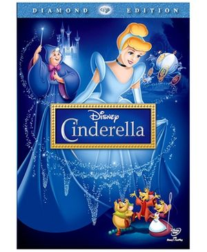 Disney Cinderella Diamond Edition English - DVD