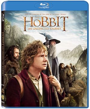 Disney Hobbit An Unexpected Journey - Blu Ray Disc