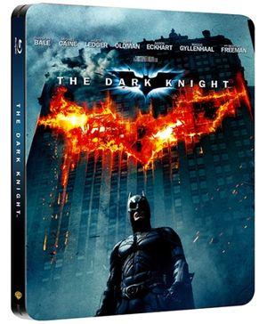 Disney The Dark Knight Steel Book - Blu Ray Disc