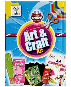 Chitra Art And Craft Combo Kit