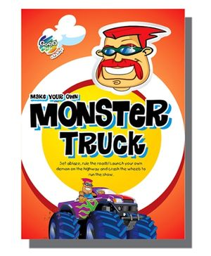 Chitra Model Construction Book - Monster Truck