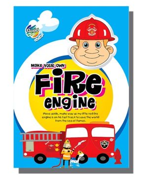 Chitra Model Construction Book - Fire Engine