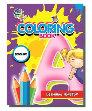 Chitra A4 Coloring Book Scholars - 365 Pictures