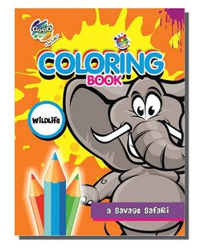 Chitra A4 Coloring Book - Wildlife
