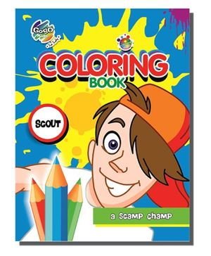 Chitra A4 Coloring Book - Scout