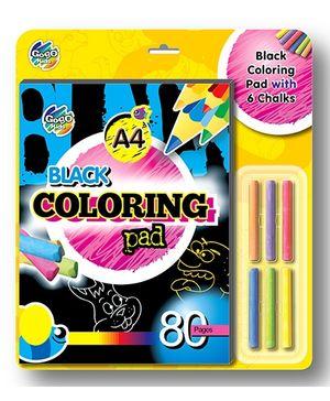 Chitra Gogo Kids Black Coloring Pad - 80 Pages
