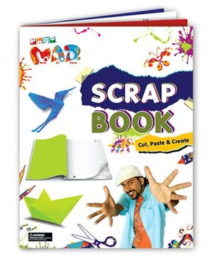 Chitra Pogo Mad Scrap Book - Cut Paste And Create