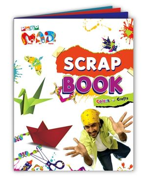 Chitra Pogo Mad Scrap Book - Color N Craft
