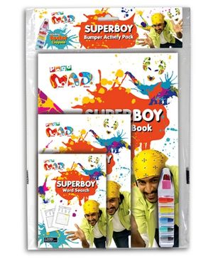 Chitra Pogo Mad Superboy - Bumper Activity Pack