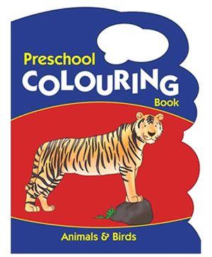 Pegasus Preschool Colouring Book Animals And Birds - English
