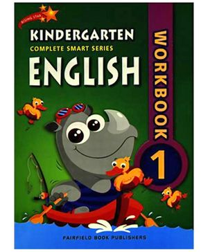 Fairfield Book Publisher Complete Smart Kindergarten English Work Book 1