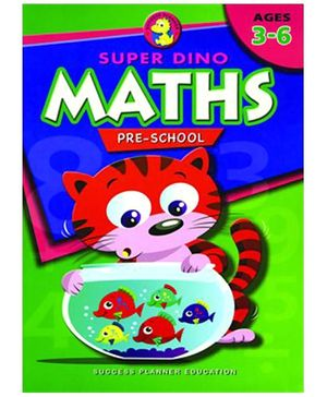 Fairfield Book Publisher Super Dino Maths Pre School
