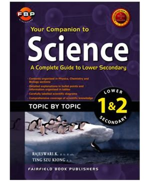 Fairfield Book Publisher Your Companion To Science Lower Secondary 1 And 2 - English