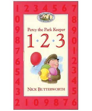 Harper Collins Percy The Park Keeper 123 - Nick Butterworth