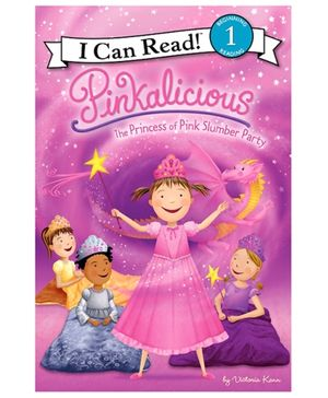 Harper Collins Pinkalicious The Princess Of Pink Slumber Party - By Victoria Kann